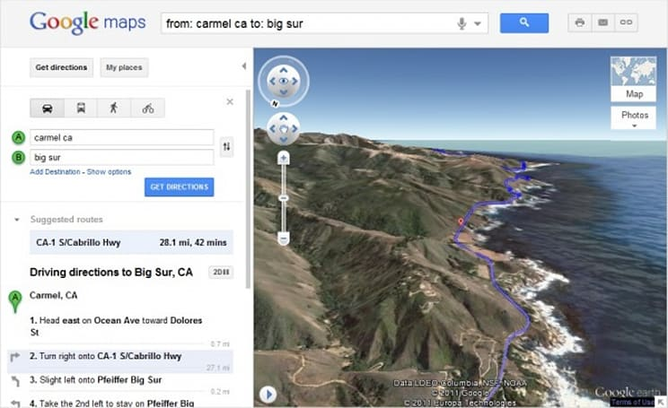 Google Maps adds 3D bird's eye route previews for high-flying navigators