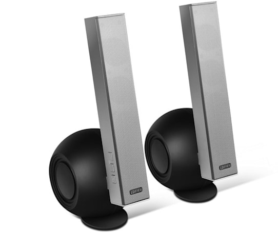 Edifier e10 Exclaim PC speakers punctuate the air with 36W of sound