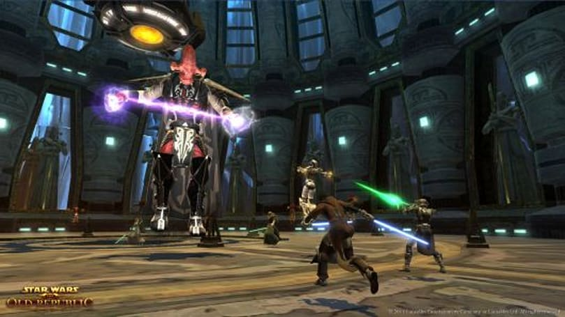 Star Wars: The Old Republic has 1.3 million active subs, new content packs coming
