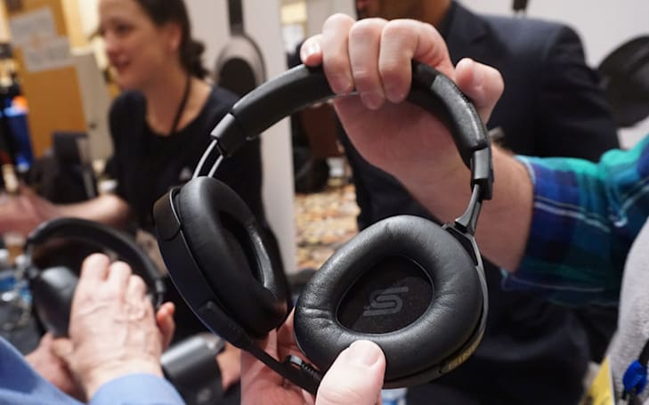 Audeze's Sine are lightweight planar magnetic headphones