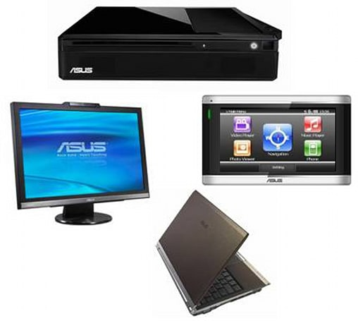 New Asus U2E laptop, R700 GPS satnav, and more at CES 2008