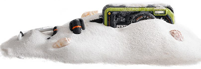 Pentax's all-weather Optio W90 gets reviewed: brawn meets brain
