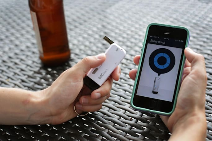 Save up to 60 percent on these mobile breathalyzers from BACtrack