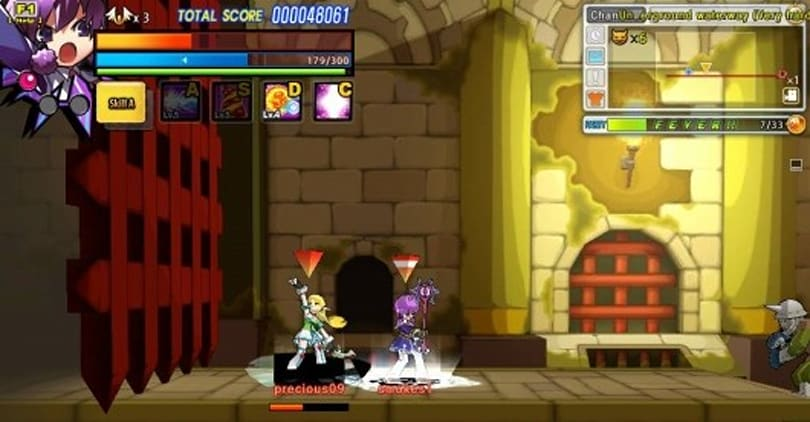 Elsword hacks and slashes into open beta