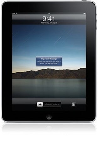Find My iPad comes to MobileMe
