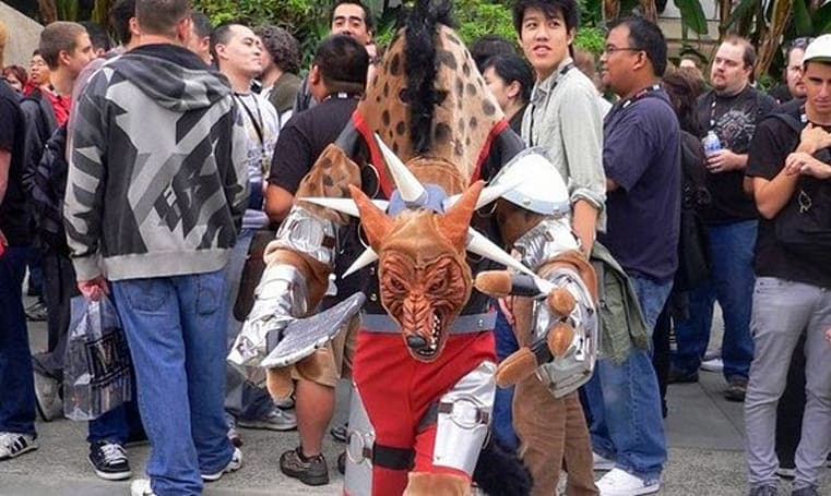 The unveiling of Hogger cosplayer Bryce Masunaga
