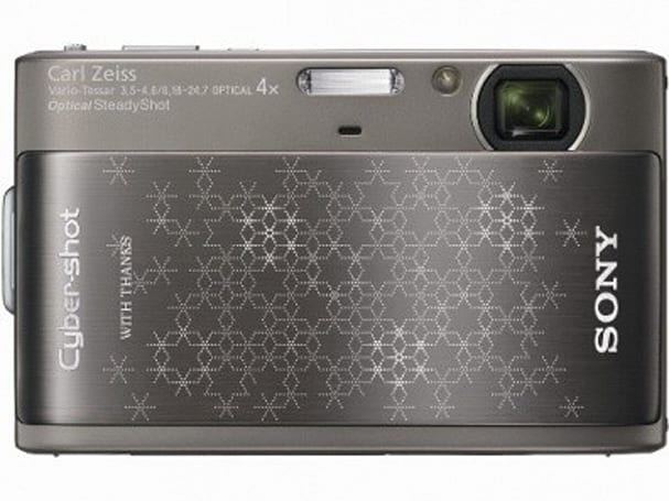 Sony Snowflake DSC-TX1 comes with engraved holiday spirit
