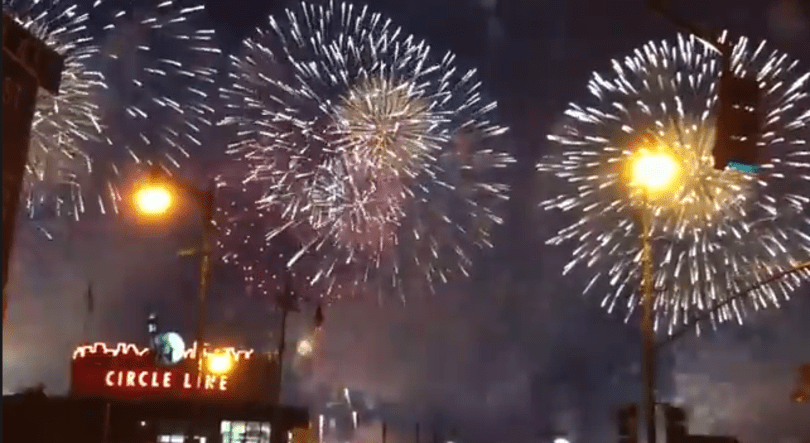 Celebrate the 4th with slow motion fireworks captured by an iPhone 5s