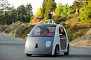 ​Google's driverless car ideas include airbags on the outside