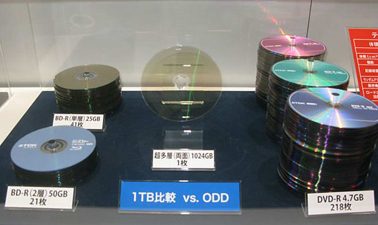 TDK develops 1TB optical disc, leaves other optical storage feeling emasculated