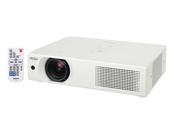 Sanyo releases LP-XU106, the brightest projector under 4 kilograms