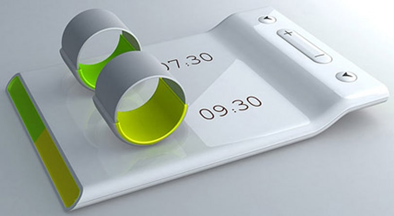 Alarming 'Ring' concept vibrates finger to wake you up
