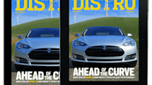 Distro Issue 77 hits the road with the Tesla Model S