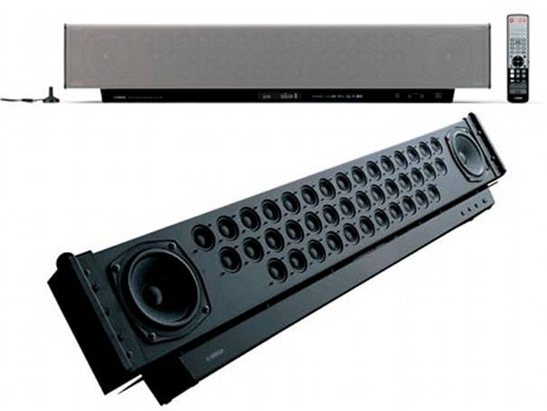 Yamaha's YSP-1100 Digital Sound Projector