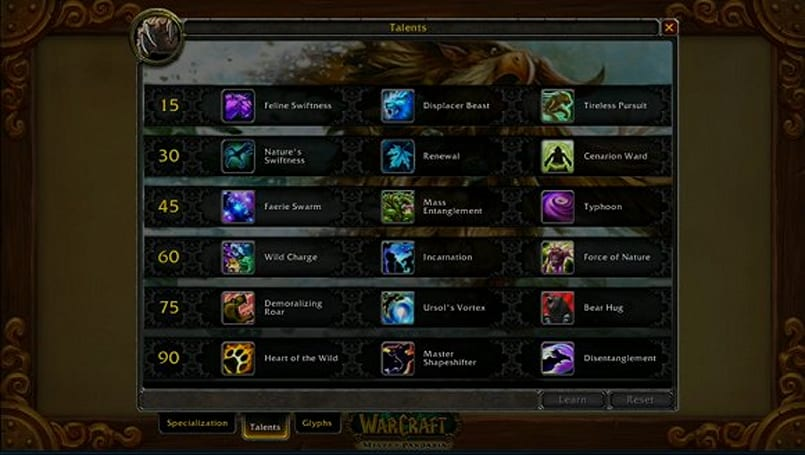 BlizzCon 2011: Screenshots of the new Pandaria talents for all classes