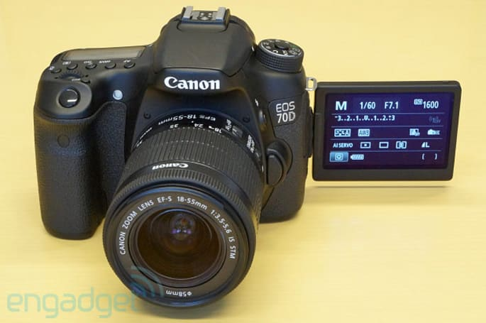 Canon reinvents video focusing with the fiercely fast EOS 70D (hands-on)