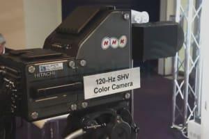 NHK 120Hz 8K Super Hi-Vision Hands-On