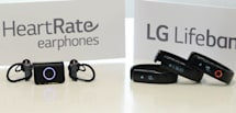 LG's Lifeband Touch and Heart Rate earphones coming May 18th (update: US pricing)
