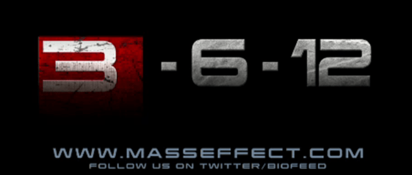 Mass Effect 3 hits on March 6, 2012