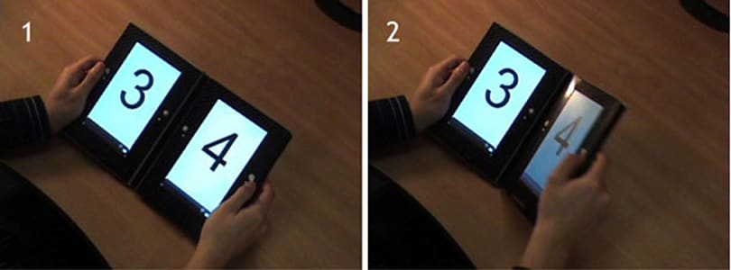 Dual-display e-book concept mimicks reading, makes complete sense