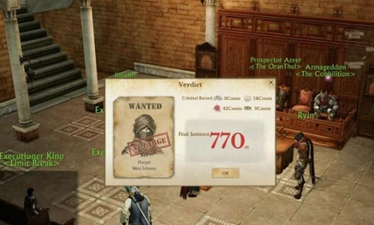 ArcheAge player sentenced to 13 hours in jail by peers