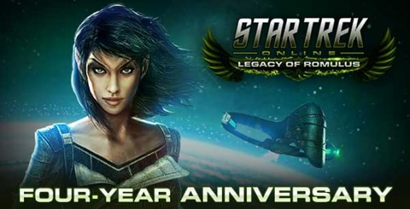 Star Trek Online posts a four-year infographic