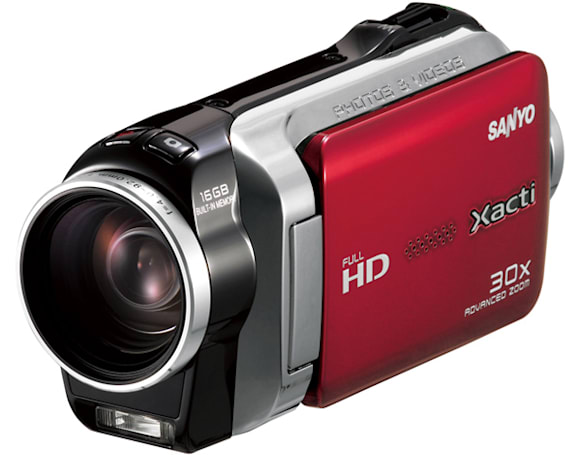 Sanyo bungs 23x optical zoom into Xacti DMX-SH11, Full HD into DMX-CG110