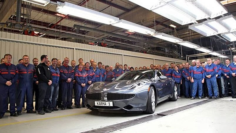 EV milestone: Fisker rolls first Karma off the assembly line, aims to deliver 7,000 this year