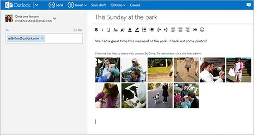 Microsoft finishes migrating Hotmail users to Outlook.com, adds direct SkyDrive sharing