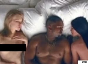 Kanye's 'Famous' Video Shows Taylor Swift And Other Celebs In The Buff
