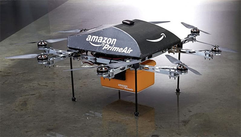 Amazon asks the FAA for permission to play with its drones outside