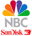 NBC Universal shacks up with SanDisk, video content now on Fanfare