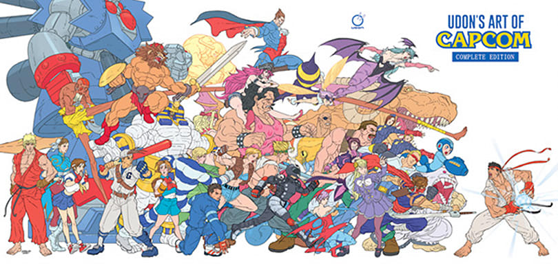 New Art of Capcom collection to debut at San Diego Comic-Con