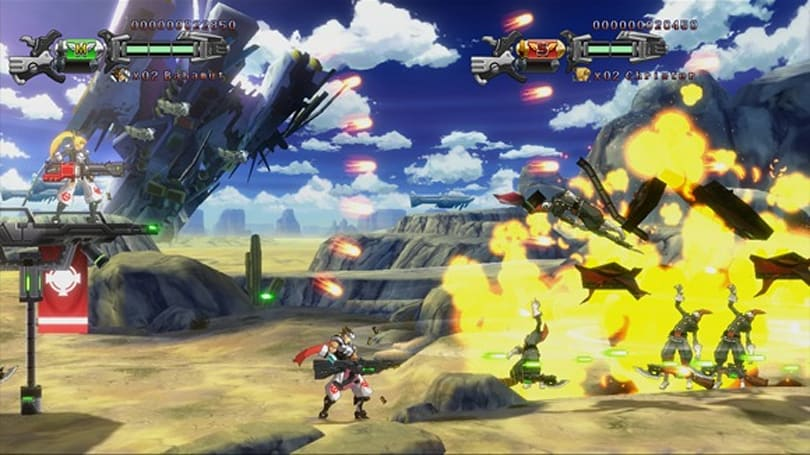 Hard Corps: Uprising is new Contra for XBLA and PSN