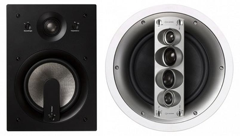 Jamo launches 18 in-wall speakers across its Custom 400- and 600-series lineups