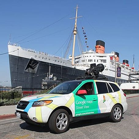 Google Street View cams peek inside Queen Mary's staterooms