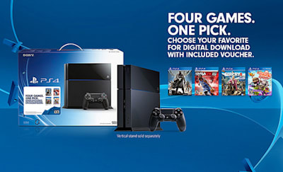 New PS4 bundle includes console, choice of game for $400