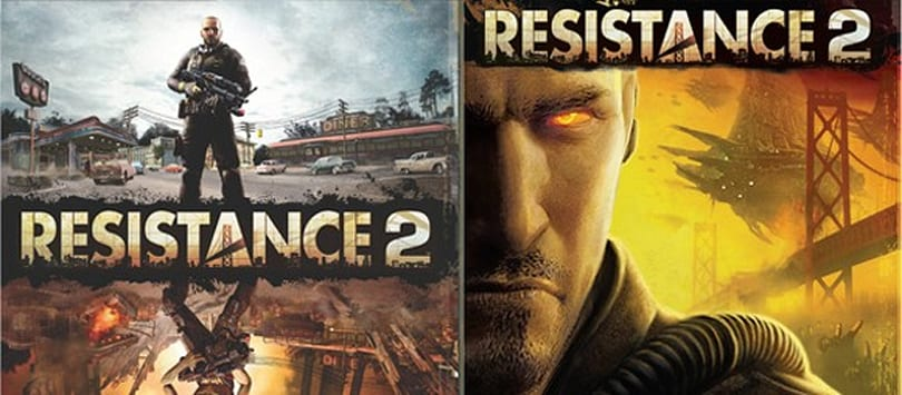 New jacket, same game: Fancy up your copy of Resistance 2