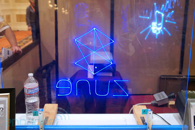 Sun Innovations show off Transplay Animated Laser Display, projects blueish vision of the future (video)