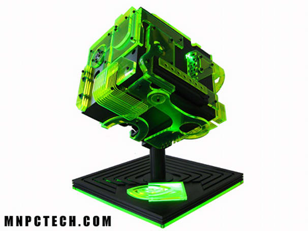 ION Cube case mod wins NVIDIA design contest