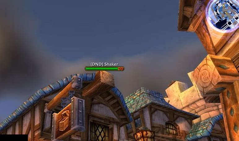 "Cataclysm earthquake mobs ""visible"" in Stormwind"