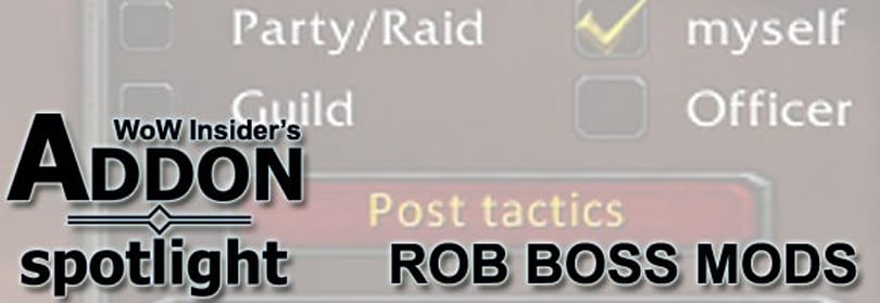 Addon Spotlight: Better PUGs with RobBossMods