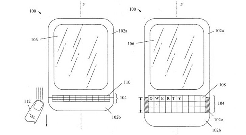 BlackBerry tries for patents on concertina-like keyboards in smartphones