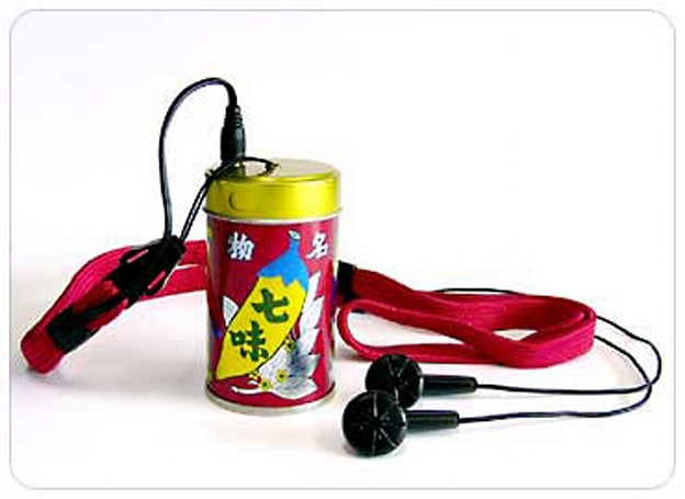Hot new DAP comes in Japanese chili powder container