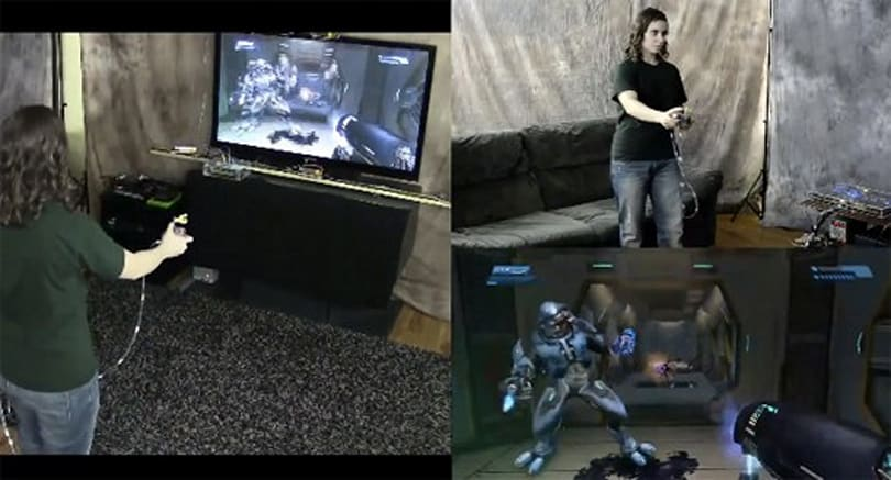 Mad Genius motion controller takes cover in Halo Anniversary