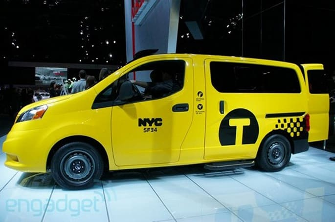 New York City, meet your new official taxi: the Nissan NV200