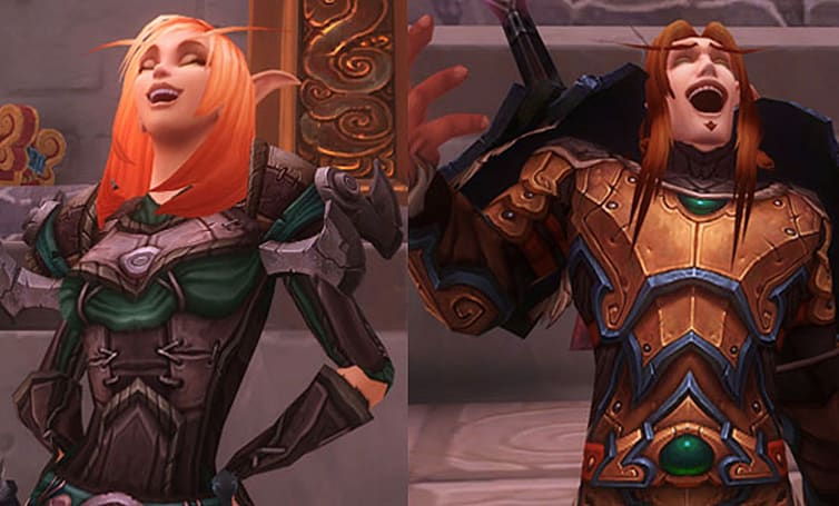 New blood elf model gallery