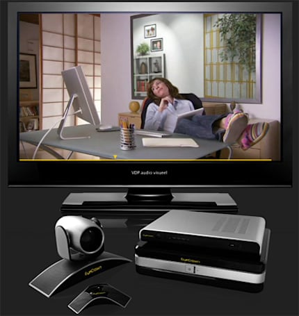 EyeCrown intros HD videoconferencing system for your TV