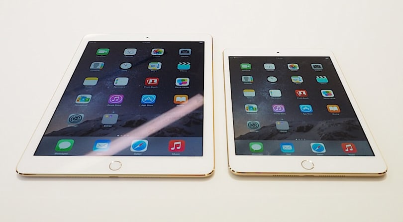 A first look at the iPad Air 2 and iPad mini 3