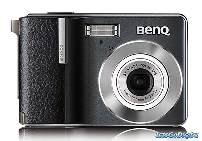 BenQ rolls out DC C1060 compact camera